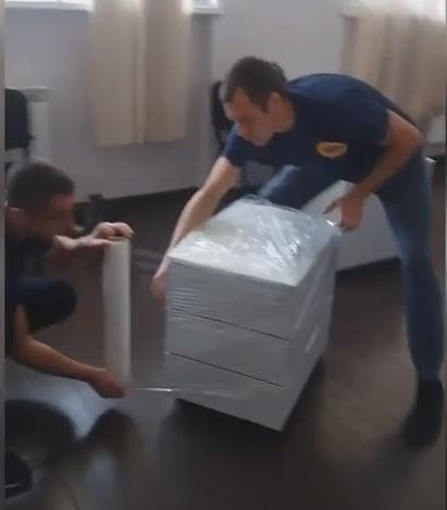 Офісний переїзд по Києву та по Україні