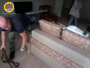 Переставить диван