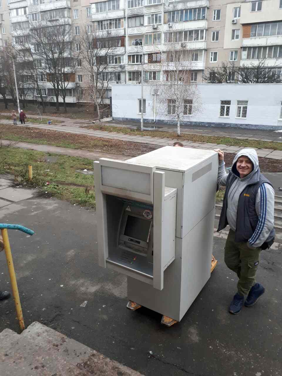 Перевозка банкомата или перевозка терминала