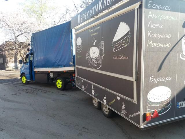 Перевозка МАФов на колесах по Киеву