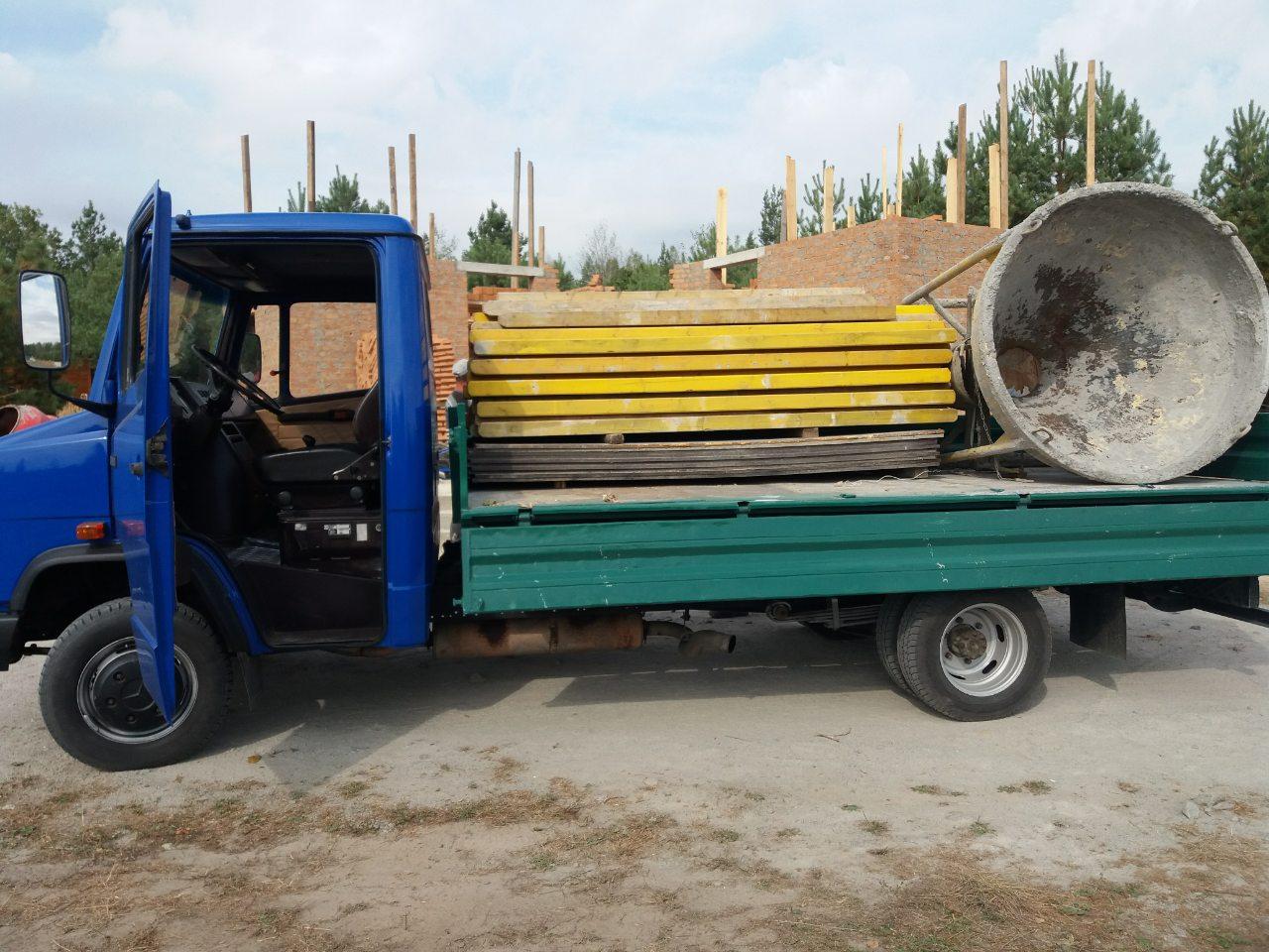 Перевозка опалубки и строительных лесов