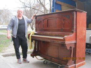 пианино Wilhelm Spaethe