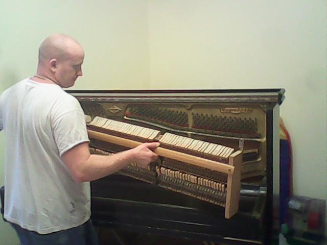 Сколько весит пианино (акустическое)