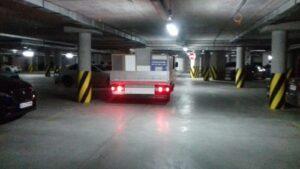 перевозки в паркинг