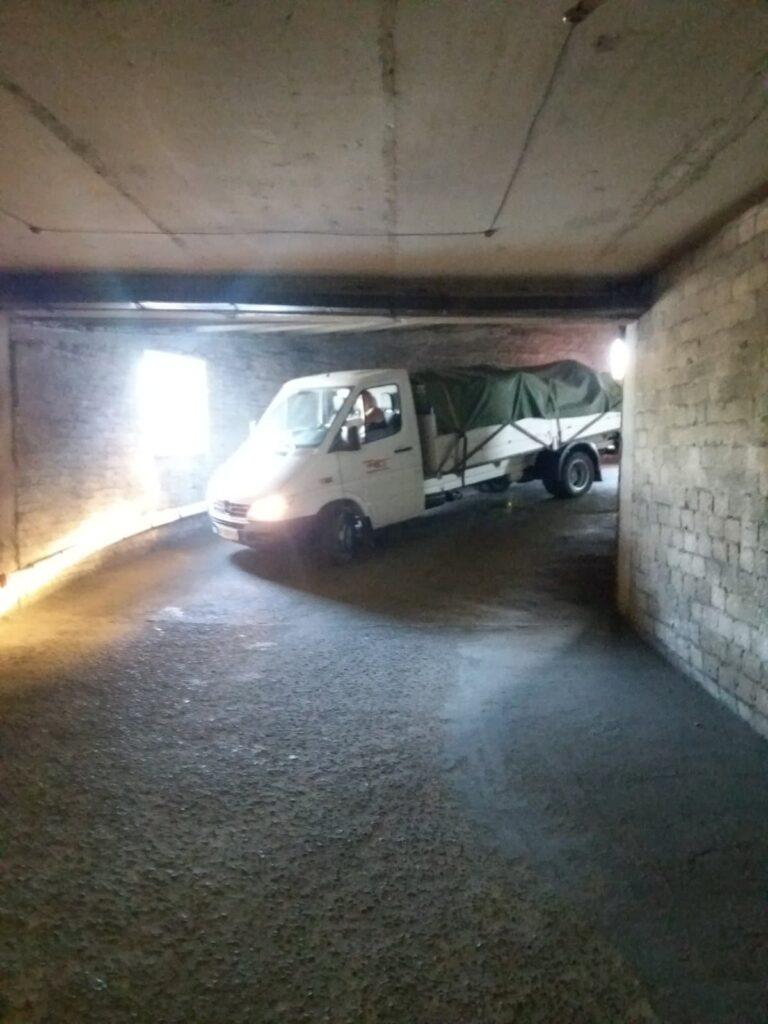 Перевозка по паркингу