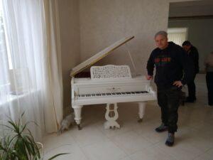 перевозка рояля Hagspiel & Company piano